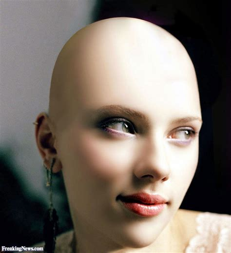 bald women smooth bald head make me bald view image scarlett johansson