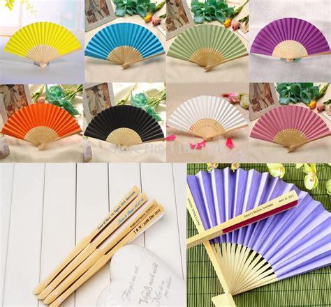 Folding Paper Fans Bulk - get cheap custom wedding fans aliexpress