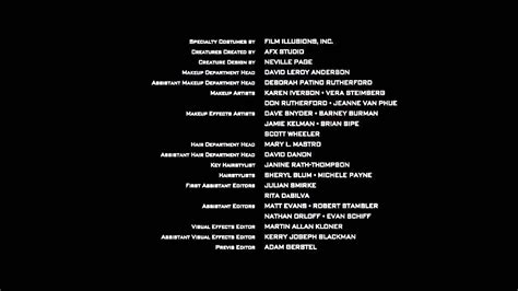 Star Trek Into Darkness End Credits Youtube Closing Credits Template