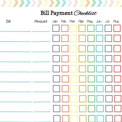 bill pay calendar template free 58 best bill organization images on free