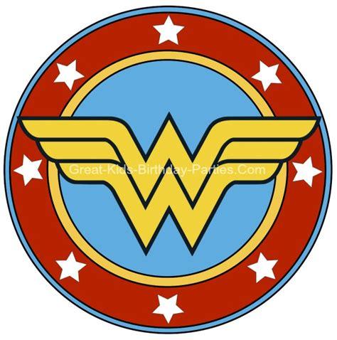 free coloring pages of wonderwoman symbol