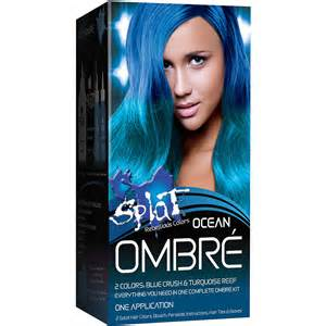 splat colors splat hair color kit ombre brown hairs