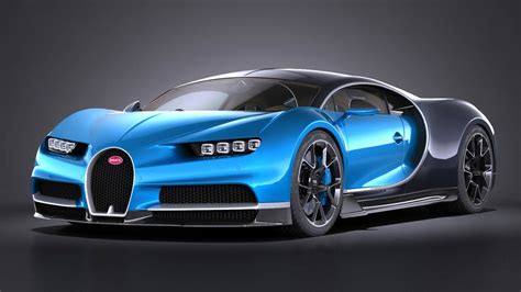 model of bugatti 3d model of bugatti chiron 2017