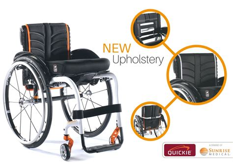 New Exo And Exo Pro Back Upholstery For Quickie