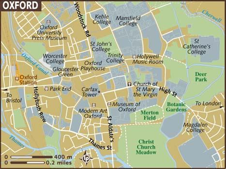 printable map leeds city centre map of oxford