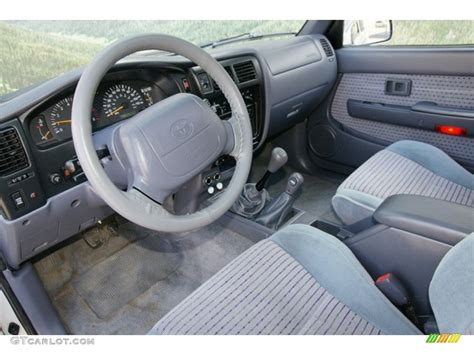 1999 Toyota Tacoma Interior by Blue Interior 1999 Toyota Tacoma Limited Extended Cab 4x4