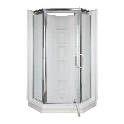 corner shower door kits 42 in x 42 in x 72 in 2 neo angle corner shower