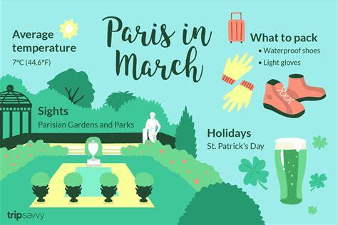 march  paris weather   guide