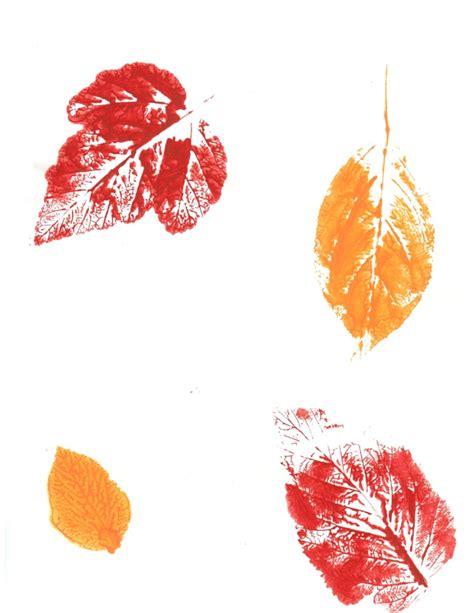 Leaf Print leaf print ideas
