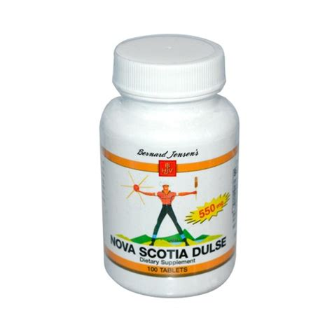 Atlantic Dulse Detox Brain by Bernard Scotia Dulse Iodine Dietary Supplement