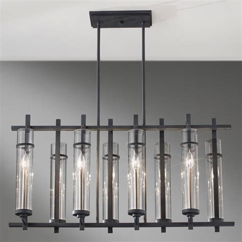 Linear Chandelier Lighting Best Home Design 2018 Linear Dining Room Lighting