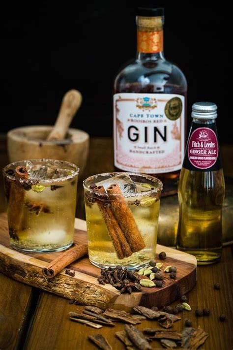 how to make a chai rooibos gin and ginger ale cocktail fitch leedes