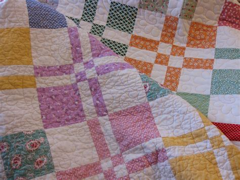 Disappearing 4 Patch Quilts by Millie S Quilting Disappearing Four Patch Quilt