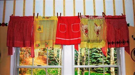 Red Retro Kitchen Curtains : Retro Kitchen Curtains: Very
