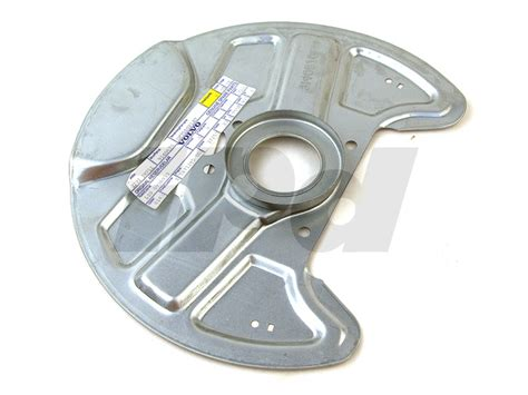 volvo front brake dust shield backing plate   abs