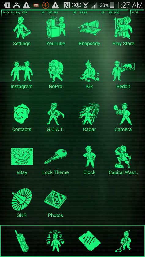 fallout android theme my god you can turn your android phone into a fallout pip boy dorkly post