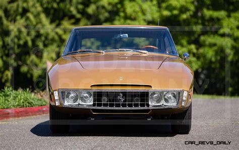 ferrari one off 1966 ferrari 330gt navarro speciale is trippy 1960s one