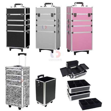 Sale Storage Bag 88 Storage Box Tempat Pakaian 4in 1 rolling aluminum makeup cosmetic box wheeled storage lockable ebay