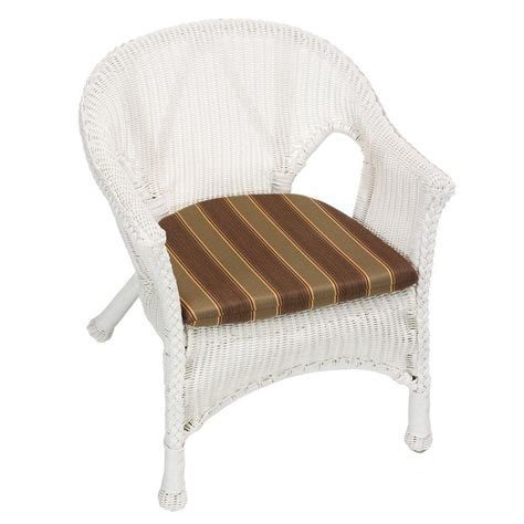 Sunbrella Bistro Chair Cushions Home Decorators Collection Redwood Sunbrella Outdoor Wicker Bistro Chair Cushion Discontinued