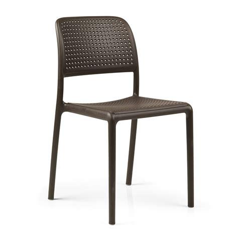 sedie per esterno sedia da giardino ed esterno bora bistrot nardi