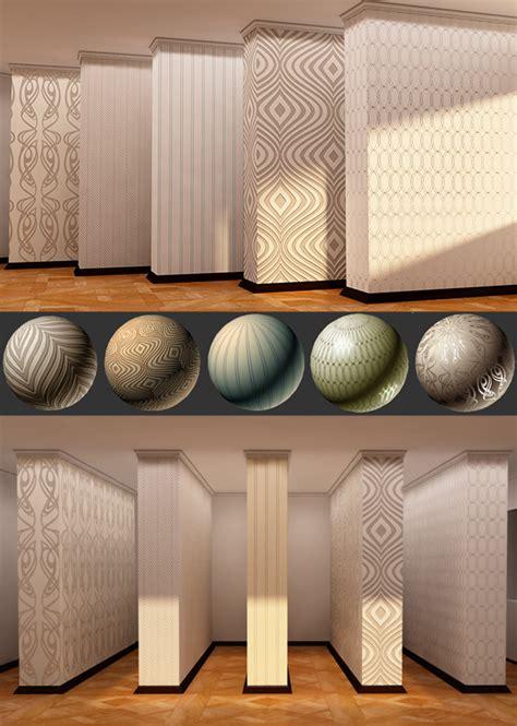 Vray Mats 5 popular interior wallpapers vray mats by ambokari