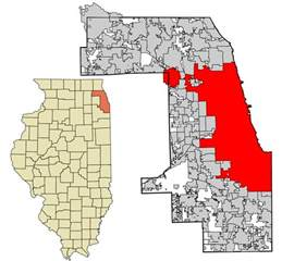 Chicago County Map by File Cook County Illinois Incorporated And Unincorporated