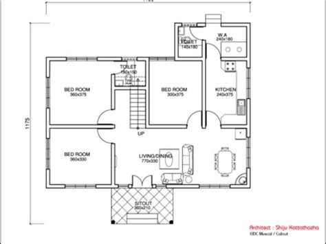 hobbit house floor plans cabbage thoran kerala style kerala style single floor