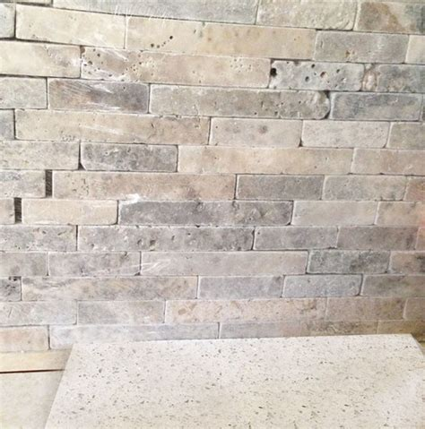 travertine mosaic backsplash to grout or not to grout