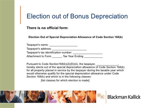 section 168 bonus depreciation navigating the depreciation maze