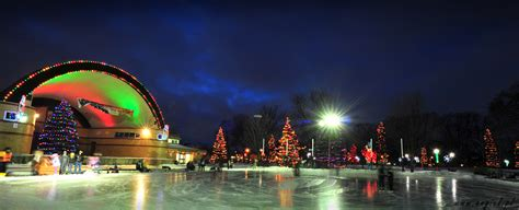 victory park lights piotr angiel photography winter in ontario