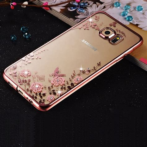Iphone 6 Plus 6 Luxury Plating Flower Diamonds Soft Limited get cheap cover aliexpress alibaba