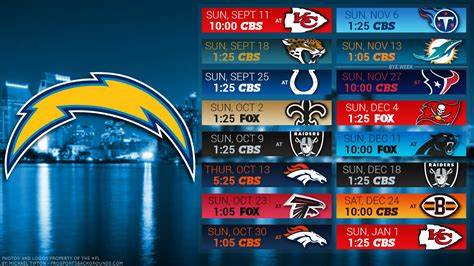 charger schedule san diego chargers html autos weblog