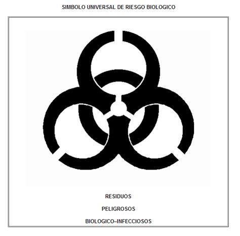 imagenes de simbolos biologicos manejo de rpbi s 237 mbolo universal de riesgo biol 243 gico