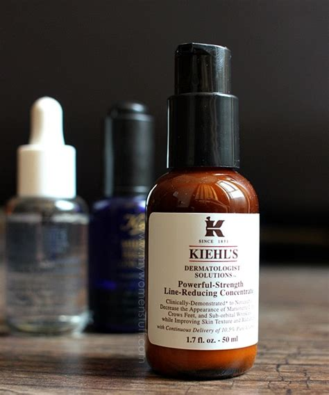 Serum Vit C Kiehl S kiehl s powerful strength line reducing concentrate review