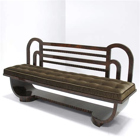 art benches art deco bench nicholas alistair