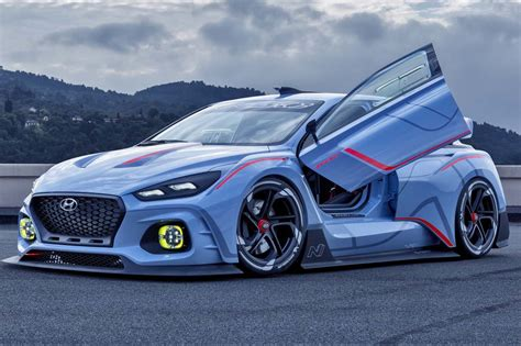 hyundai supercar glm g4 electric supercar is unexpected gem from paris show