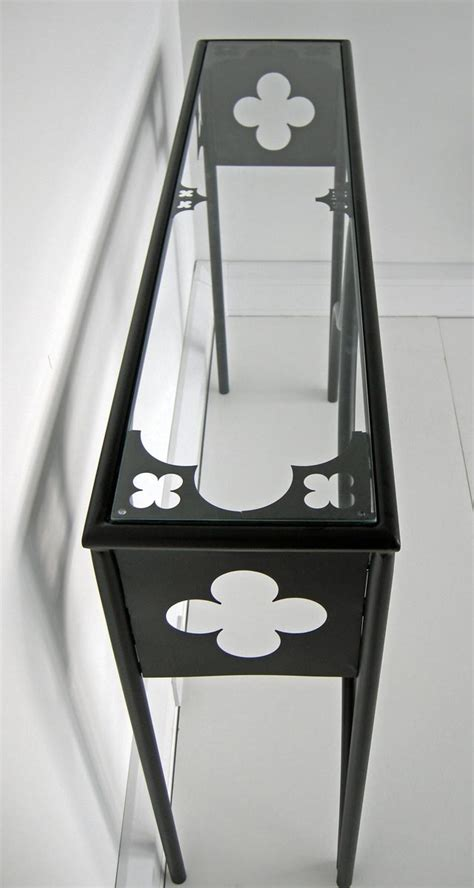 Quatrefoil Console Table Furniture Co Uk Minimalist Beds