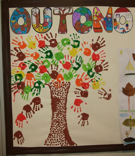 decorar hojas de otoño guarderia actividades preescolares para otono