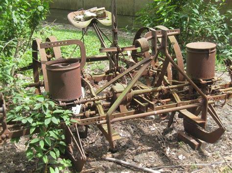 two row corn planter old farm machinery pinterest