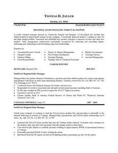 Channel Sales Manager by Channel Sales Manager Sle Resume Qa Engineer Resume Sle