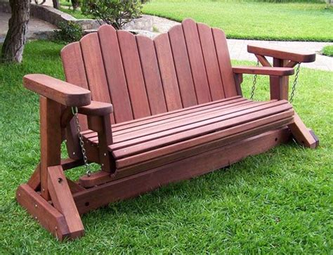 wooden swing bench plans 1000 ideas about porch glider on pinterest vintage