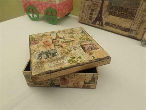 Vintage Decoupage Ideas - 17 best images about cajas decoupage on