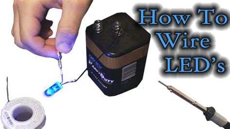how to wire led s
