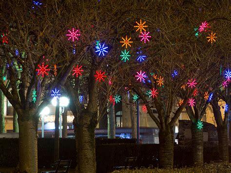 decorated trees blachere illumination