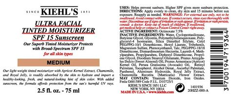 Kiehls Ultra Tinted Moisturizer Spf 15 by Kiehl S Ultra Tinted Moisturizer Spf 15 Light