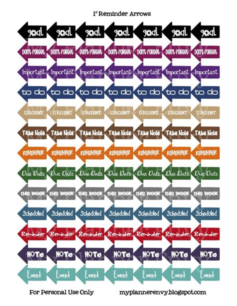 printable calendar reminder stickers 1000 images about planning stickers on pinterest free