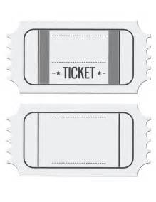 Blank Ticket Templates by Ticket Template Cyberuse
