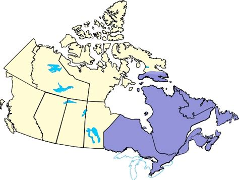 map eastern canada provinces canada map eastern provinces