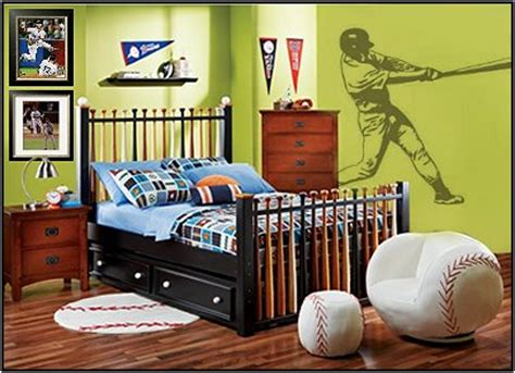 softball bedroom ideas teen boys sports theme bedrooms room design ideas