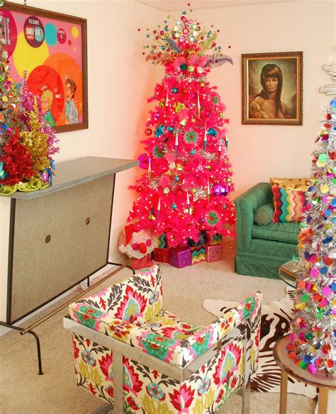 the right colored christmas tree for the right room